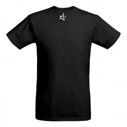 T Shirt homme noir/blanc-AKA The Brand