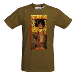 T-Shirt AKA homme brown -...