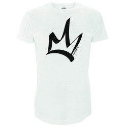 T-shirt homme blanc oversize-The King